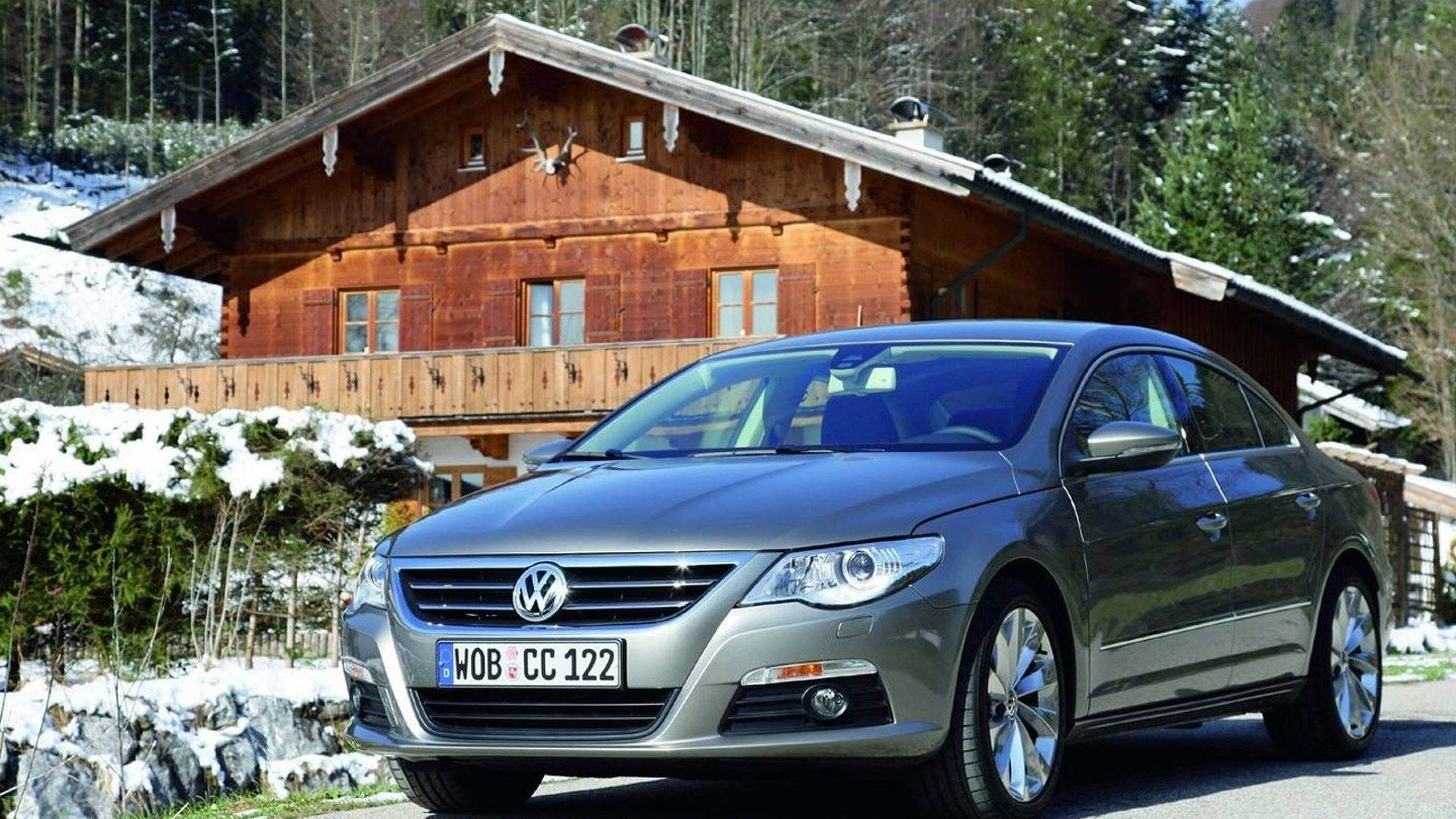 Неформатный седан: обзор VW Passat CC I