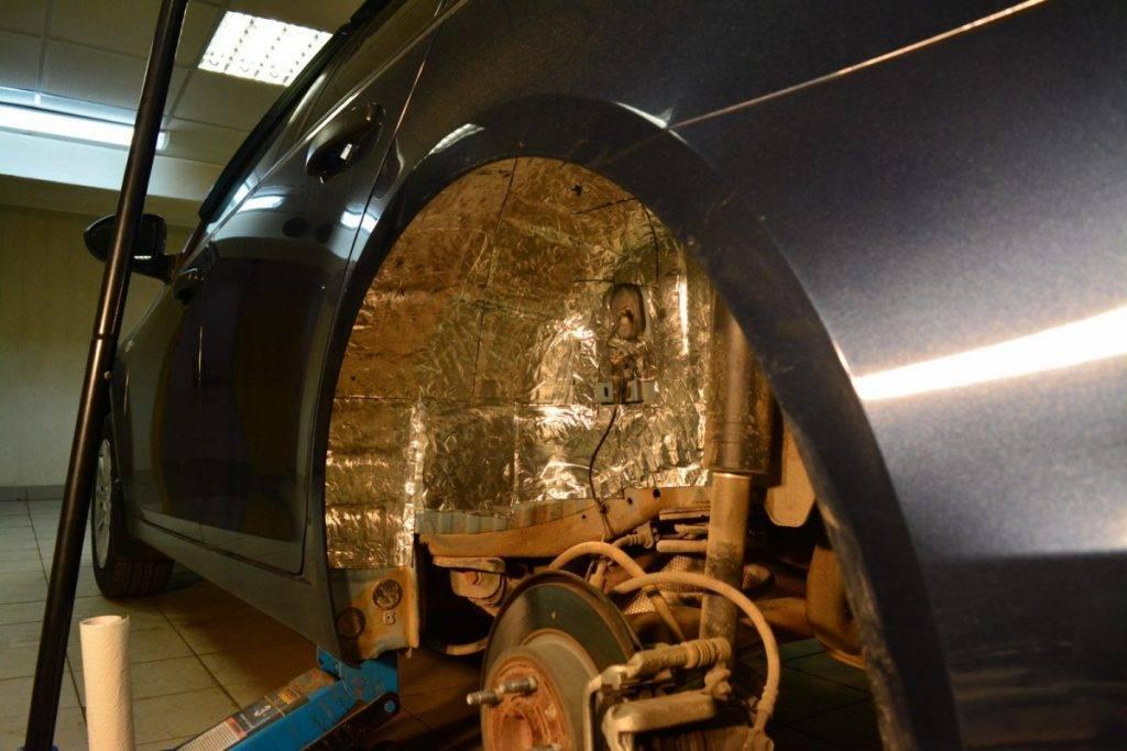 2 простых способа шумоизоляции колесных арок: дешевый и легкий с инструкцией