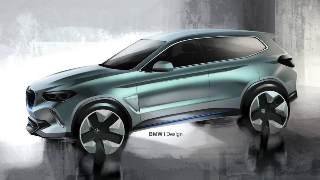 Bmw официально представила обновлённый bmw ix3 с другим дизайном и новыми технологиями