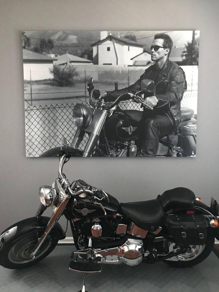 Harley-davidson fat boy - культовый мотоцикл в честь авиационной бомбы