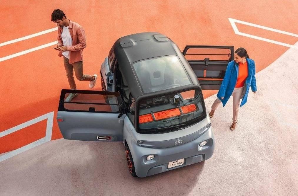 Citroën ami – 100% электромобиль – новости citroën