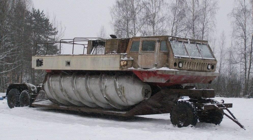 Шнекороторный снегоболотоход зил-4904 — каропка.ру — стендовые модели, военная миниатюра