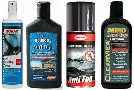 Антизапотеватель автомобильных стекол: 5 эффективных средств