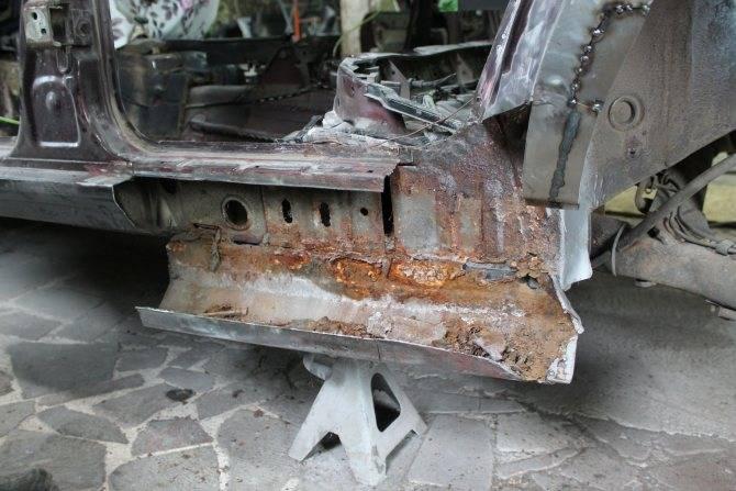 Лонжерон автомобиля – чтоэтотакое, длячего нужны ланжероны вмашине (1фото)
