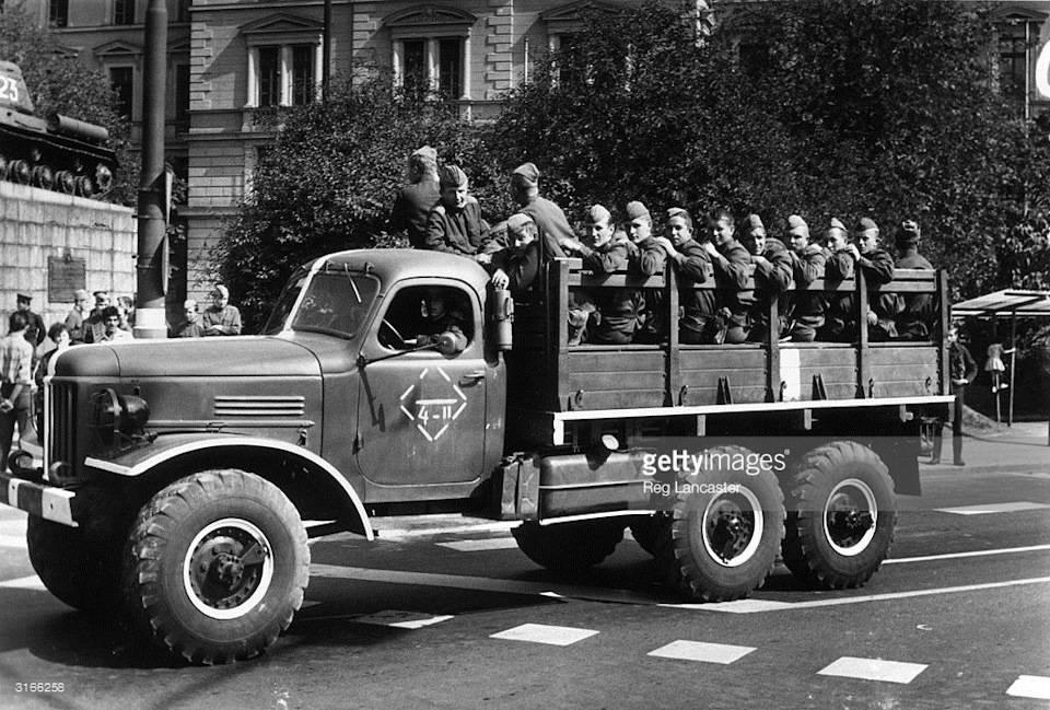Praga v3s - легендарный вездеход из чехии