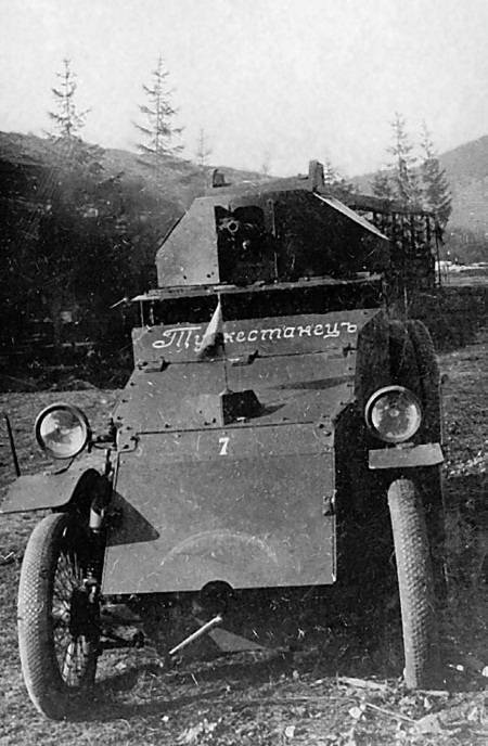 Истоки танкостроения. броневик для русской армии | история и техника
