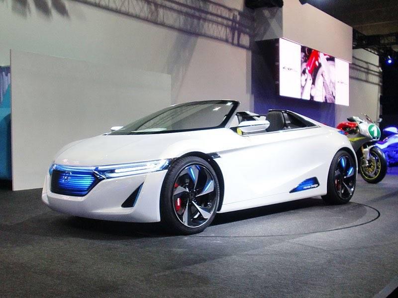 Honda представила прототип нового спорткара s660