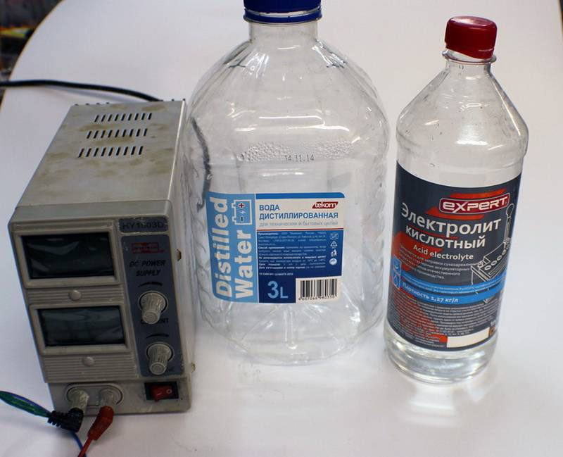 Замена электролита аккумулятора - стоит ли доливать электролит и как это сделать?   аккумуляторы и батареи