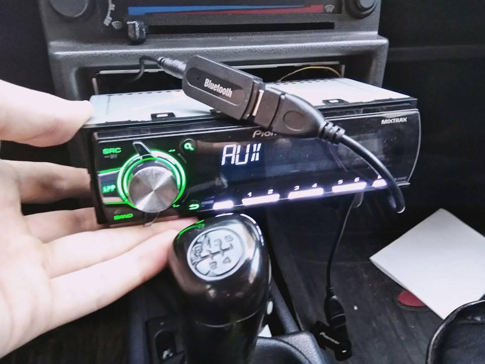 Как подключить телефон к автомобилю через магнитолу - bluetooth адаптер - вайфайка.ру