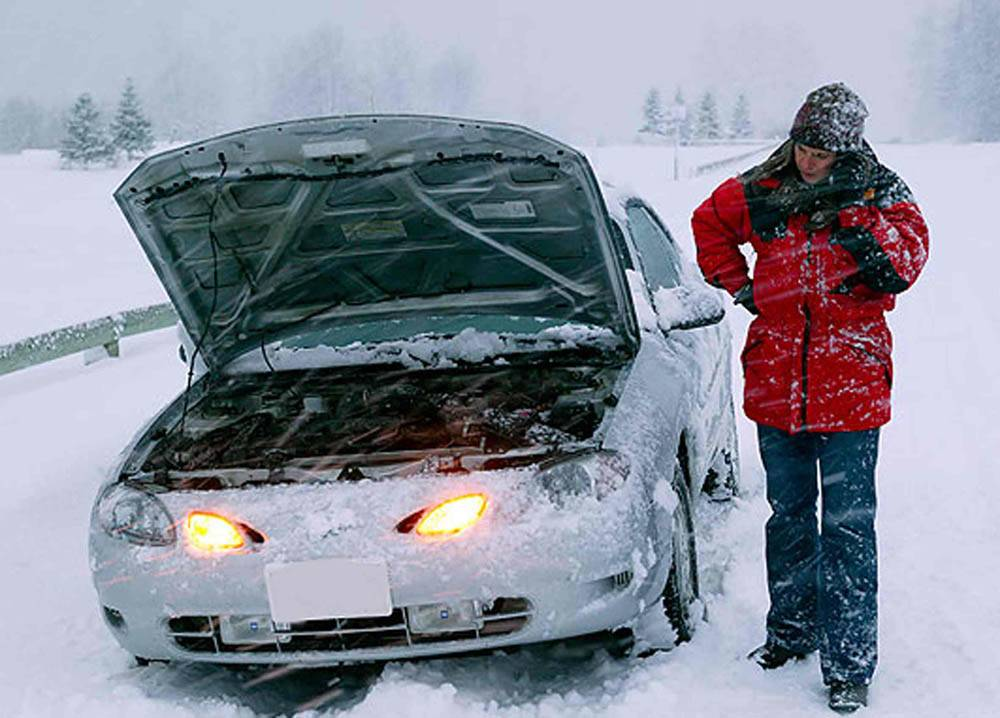 Как завести машину в мороз?