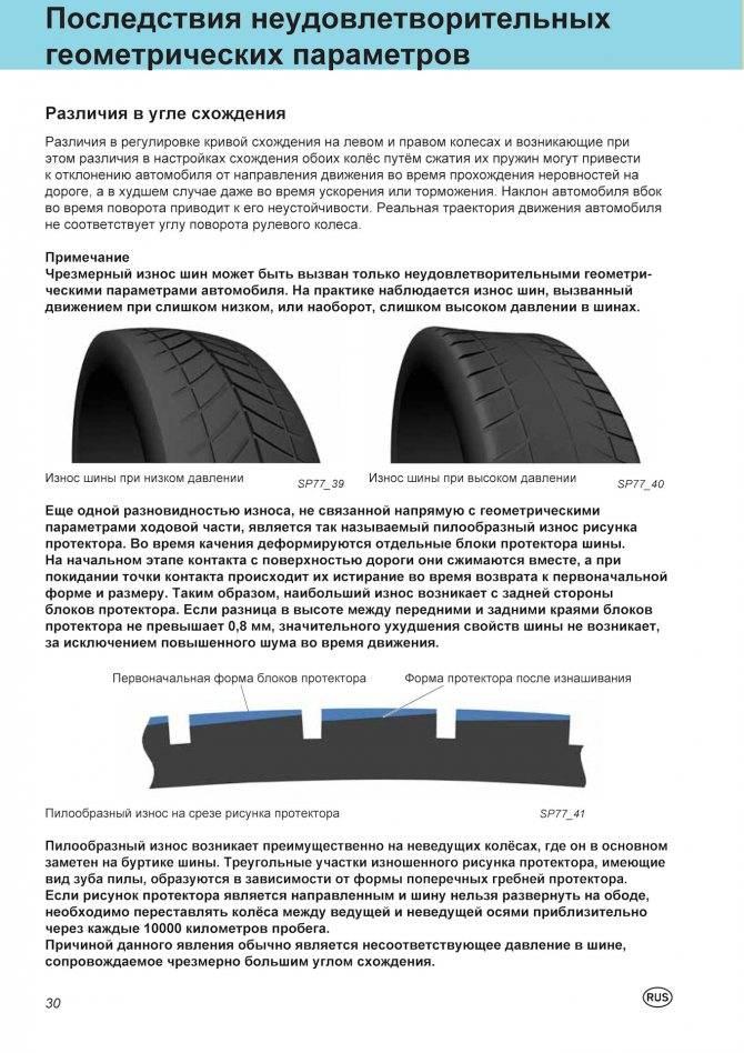 Как определить износ шин (резины, покрышек) и какова допустимая норма » автоноватор