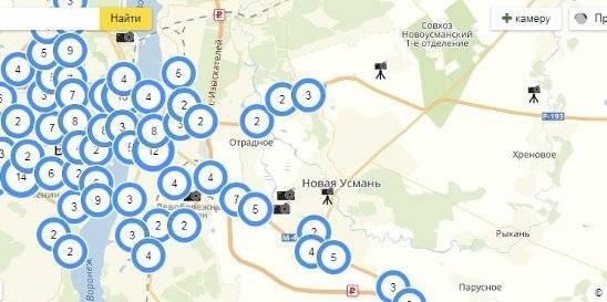 Камеры гибдд в нижегородской области на карте 2021