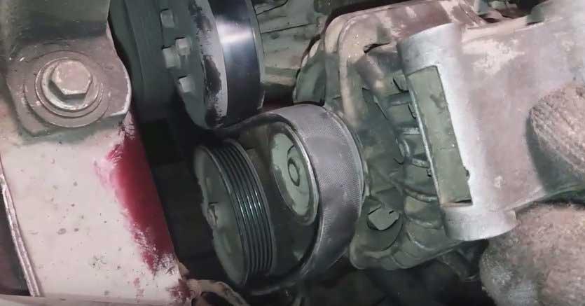 Как установить и натянуть ремень генератора на ford focus 1, 2 и 3 своими руками