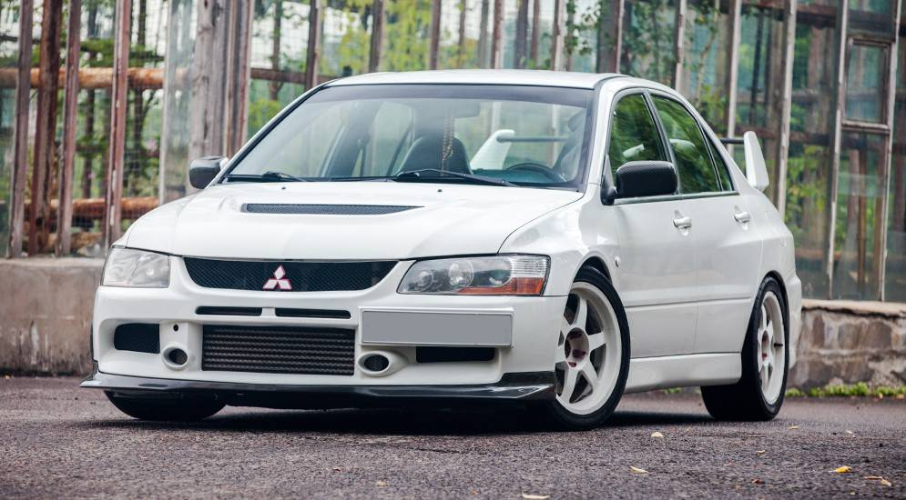 Mitsubishi lancer evolution, обзор всех поколений