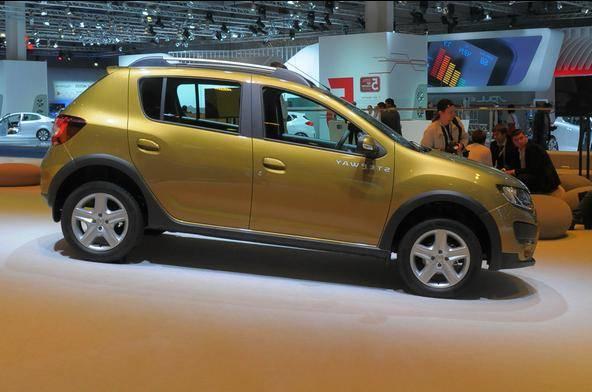 Renault sandero stepway конкуренты