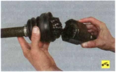 Замена наружного шруса ауди а6 c5 своими руками с отсоединением и без отсоединения рычагов