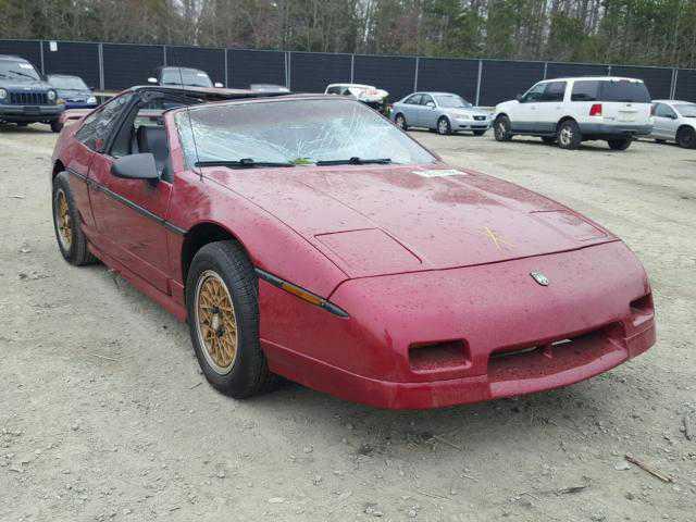 Pontiac fiero до сих пор популярны