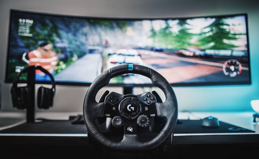 Подключаем руль с педалями к компьютеру