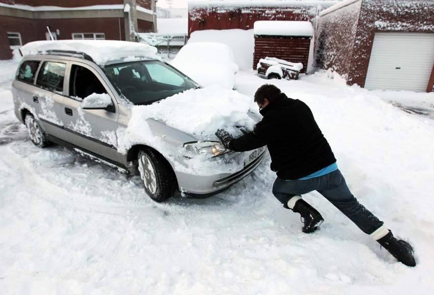 Какой датчик влияет на запуск двигателя зимой