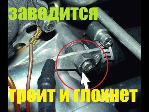 Если при запуске мотора на холодную появляется стук: что делать?