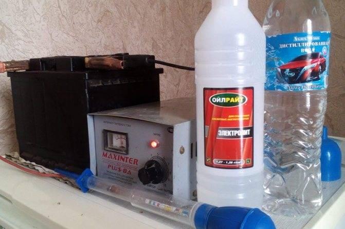 Замена электролита в аккумуляторе: основные нюансы