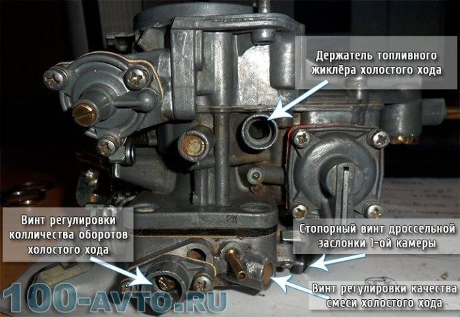 Регулировка карбюратора ваз 2106 своими руками ♥ rtiivaz.ru