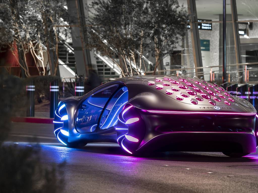 Mercedes-benz vision avtr – новый стандарт будущего
