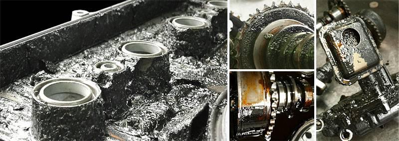 Должно ли чернеть масло в двигателе и почему это происзодит