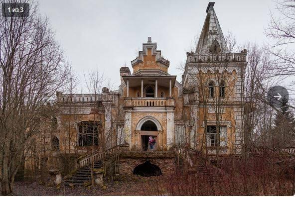 Заброшенные особняки в санкт-петербурге - 15 лучших
