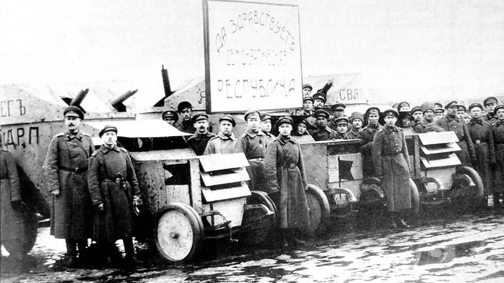 Башенные и безбашенные: русские броневики первой мировой