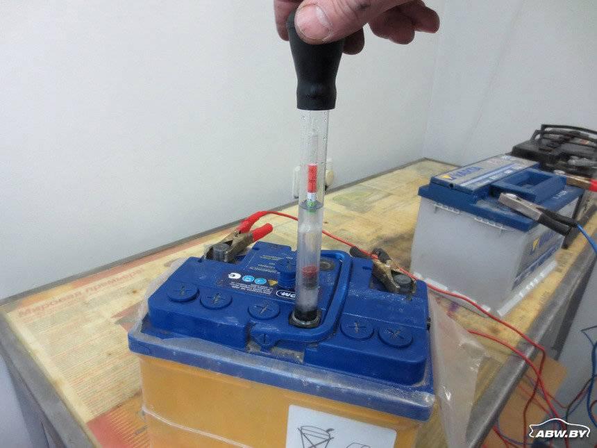 Замена электролита в аккумуляторе автомобиля своими руками
