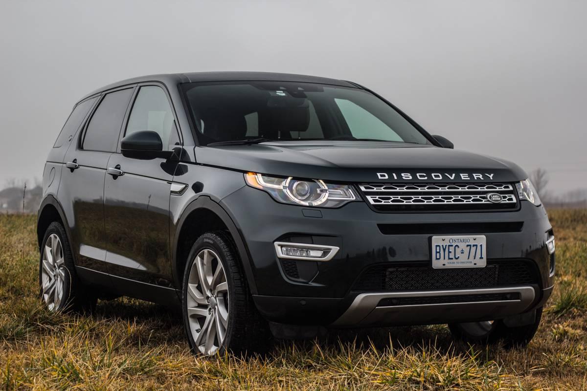 Range Rover Sport II против Discovery Sport I