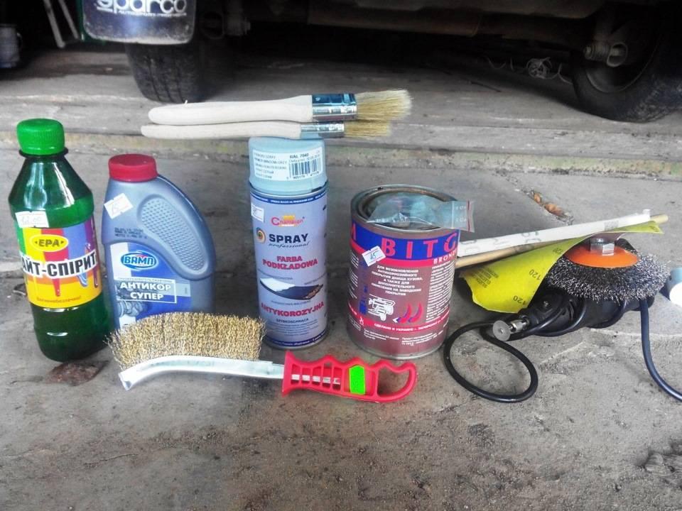 Как быстро удалить ржавчину с кузова автомобиля