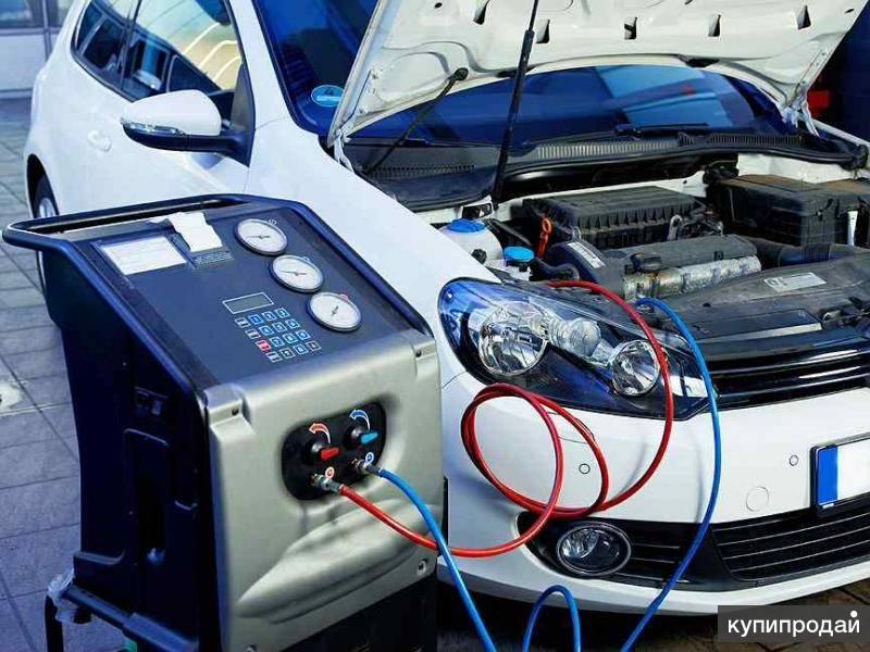 Как заправить автомобильный кондиционер