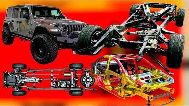 Рама автомобиля — какие существуют типы рам