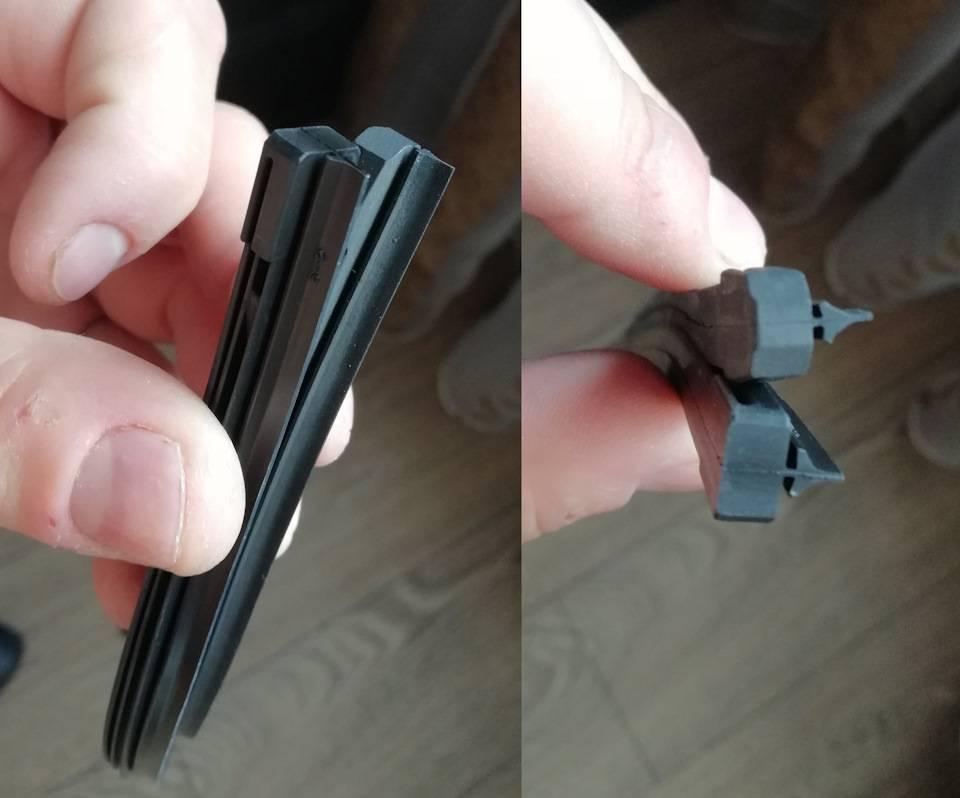Как самостоятельно заменить щетки стеклоочистителя?