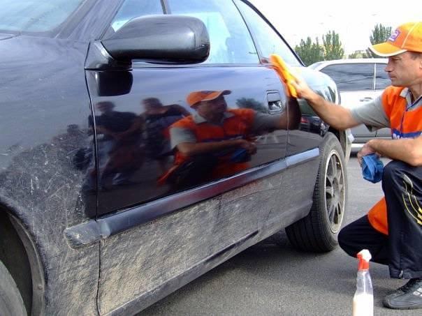 Сухая мойка — как помыть автомобиль без воды / автобегиннер.ру