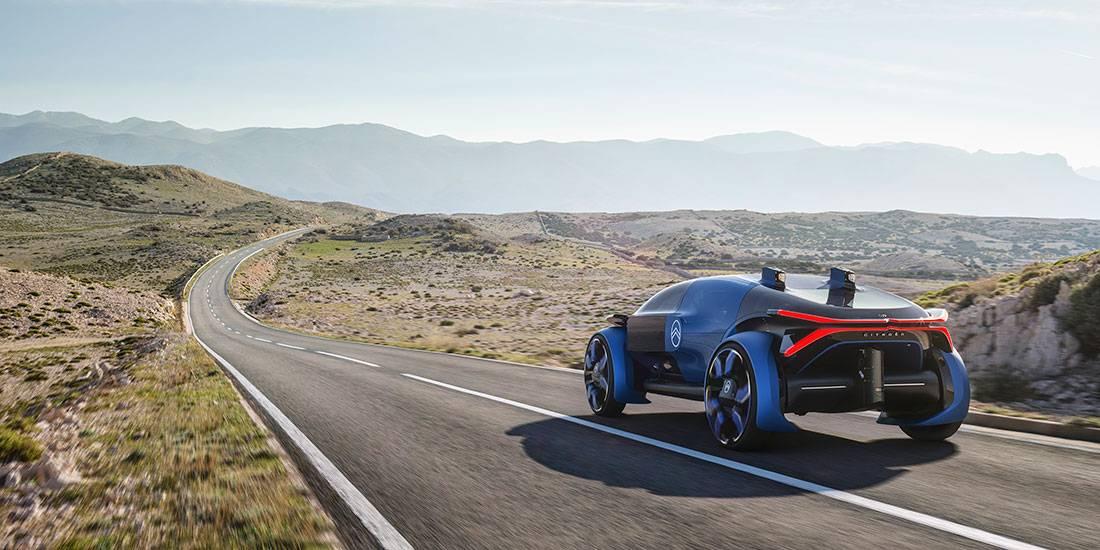 Citroën 19_19 concept – 100% электрический и автономный