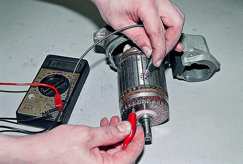 Проверка стартера от аккумулятора своими руками