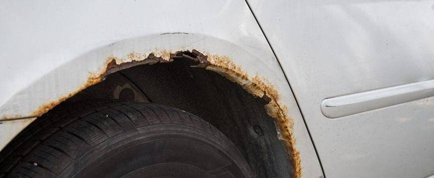 Как убрать ржавчину на кузове автомобиля— технология удаления коррозии — auto-self.ru