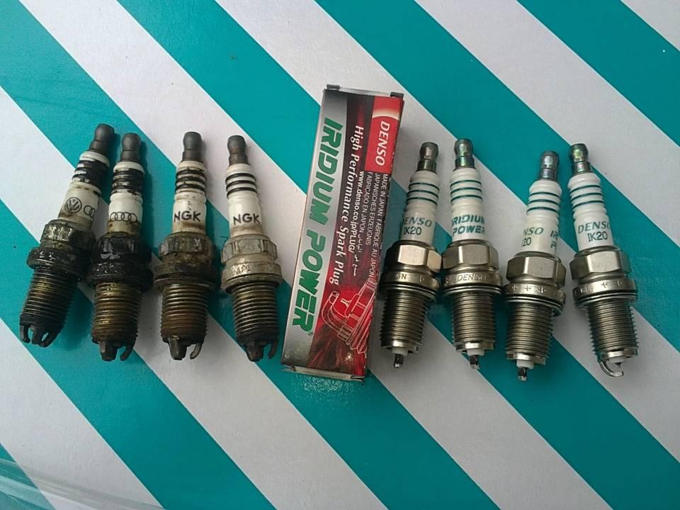 Замена свечей зажигания на шкода октавия а5 двигатель 1.6 mpi