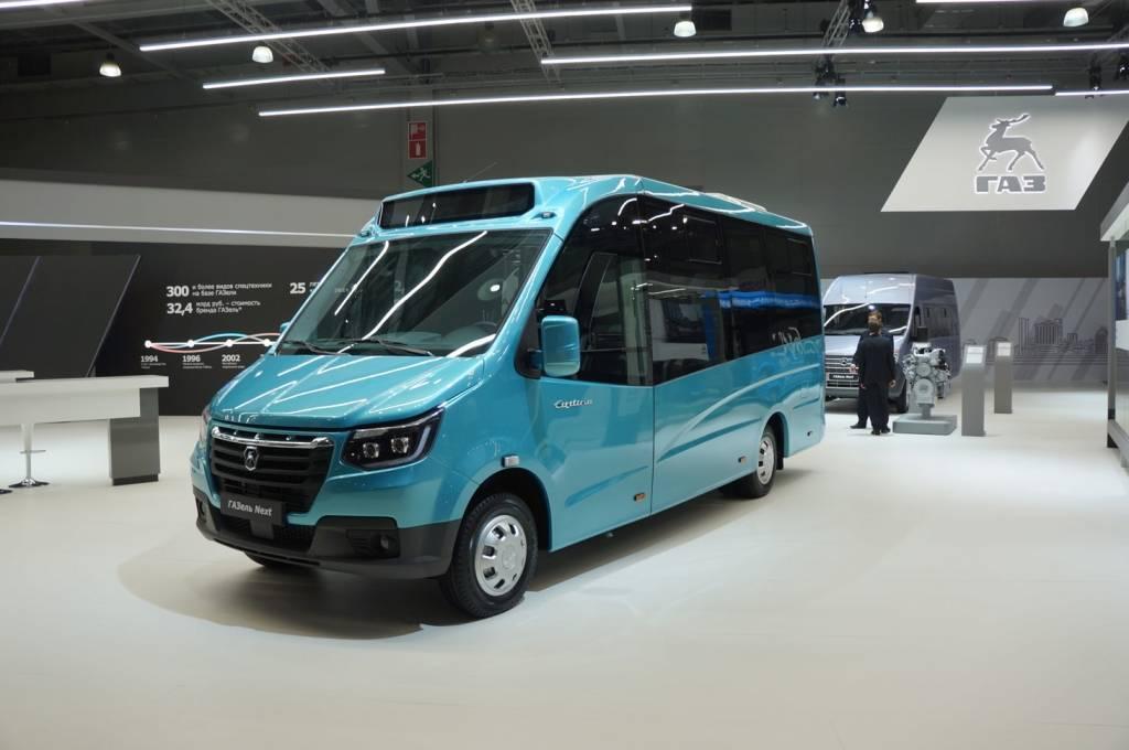 «газель-next» получила версию «короткий фургон», а старая «газель» — новый салон