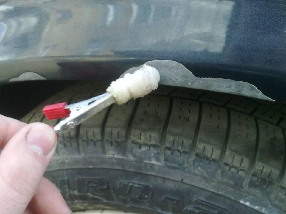 Как бороться с ржавчиной на кузове автомобиля: что делать своими руками