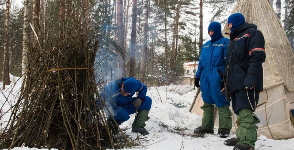 Выживание в тайге зимой: основные законы сурового севера