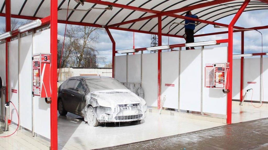 Как правильно мыть машину на мойке самообслуживания: этапы работы