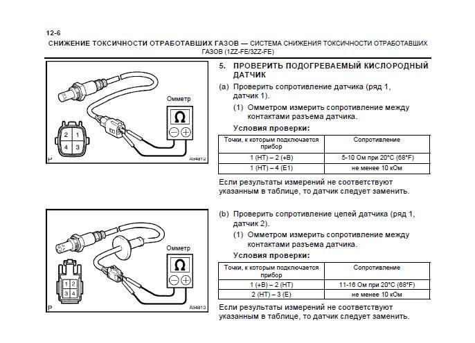 Однопроводной лямбда зонд как проверить - автомобильный портал automotogid