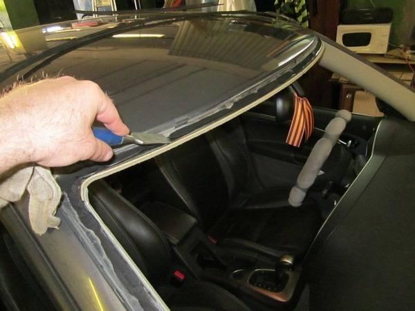 Как проводится ремонт автомобильных стекл. особенности устранения сколов и трещин