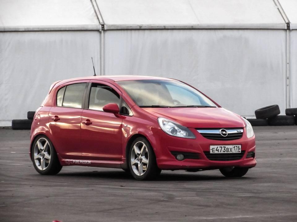 Opel corsa d (2006-2013)