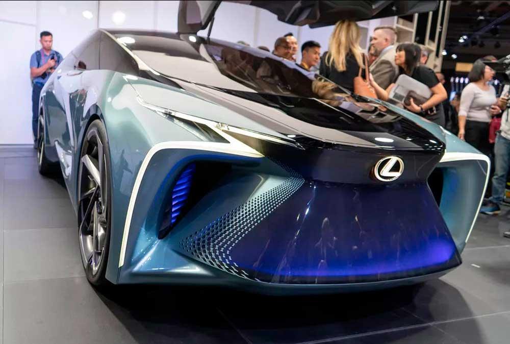 Lexus представил свой новый концепт будущего LF 30