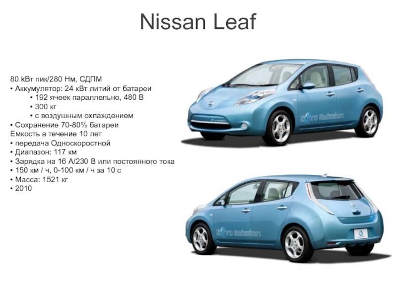 Есть ли смысл покупать подержанный nissan leaf или стоит обратить внимание на конкурентов?